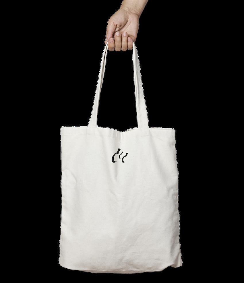 Trisickle 10ltr White Tote Bag Ethos